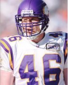 Cullen Loeffler Minnesota Vikings 8X10 Photo