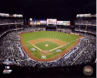 E3 Yankee Stadium 2009 World Series Game Six 8X10 Photo