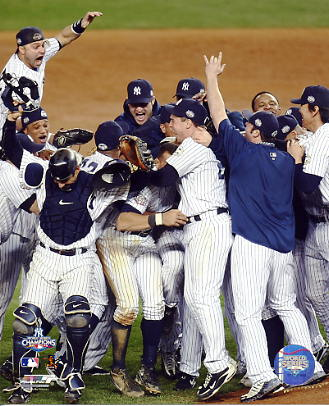 Yankees 2009 New York World Series Celebration Game 6 (Vertical) 8X10 Photo