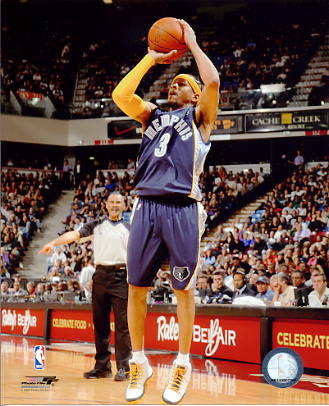 Allen Iverson LIMITED STOCK Memphis Grizzlies 8X10 Photo