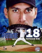 Andy Pettitte 18 Post Season Wins/ 5 Time World Series Champion New York Yankees LIMITED STOCK 8X10 Photo