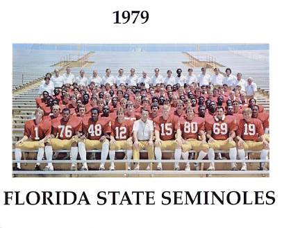 Seminoles 1979 Florida State G1 Limited Stock Rare 8X10 Photo
