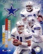 Julius Jones, Keyshawn Johnson & Drew Bledsoe G1 Limited Stock Rare Cowboys 8X10 Photo