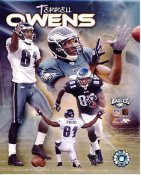 Terrell Owens LIMITED STOCK Philadelphia Eagles 8X10