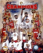 Heat 2006 Champs Miami Limited Edition 8X10 Photo