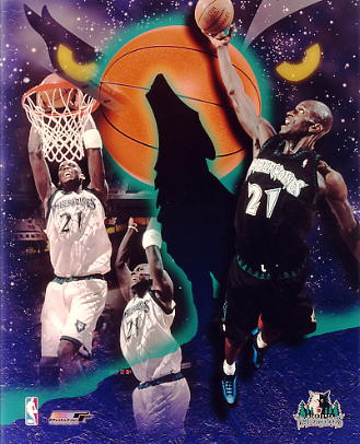 Kevin Garnett G2 Limited Stock Rare Timberwolves 8X10 Photo