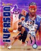 Allen Iverson LIMITED STOCK Philadelphia 76ers 8X10 Photo