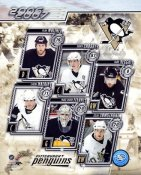 Ryan Whitney, Crosby, Recchi, Malkin, Fleury & Armstrong G2 LIMITED STOCK RARE 8X10 Photo