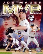 Joe Mauer 2009 AL MVP Minnesota Twins 8X10 Photo