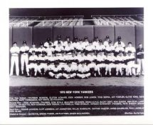 Yankees 1978 New York Team Photo 8X10 Photo