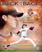 Tim Lincecum Back To Back Cy Young Winner 2008-2009 LIMITED STOCK San Francisco Giants 8x10 Photo