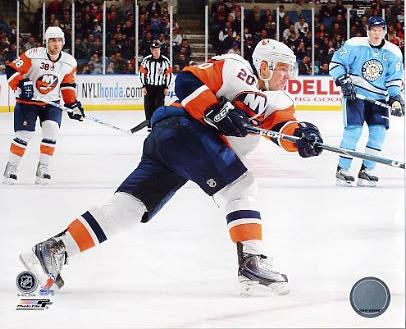 Sean Bergenheim New York Islanders 8x10 Photo