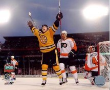 Marco Sturm Game Winning Goal 2010 Winter Classic Boston Bruins 8x10 Photo