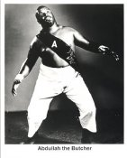 Abdullah the Butcher Wrestling Original Photos Limited Stock Rare 8X10 Photo