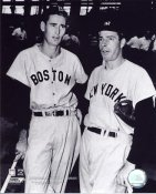 Joe DiMaggio and Ted Williams New York Yankees LIMITED STOCK 8X10 Photo