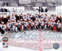 Flyers 2010 Winter Classic Team Philadelphia 8X10 Photo