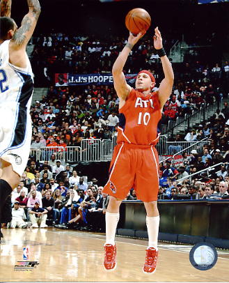 Mike Bibby Atlanta Hawks 8X10 Photo LIMITED STOCK