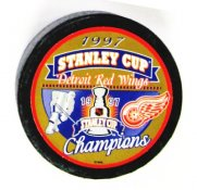 Detroit 1997 Red Wings Puck Stanley Cup Hockey Puck