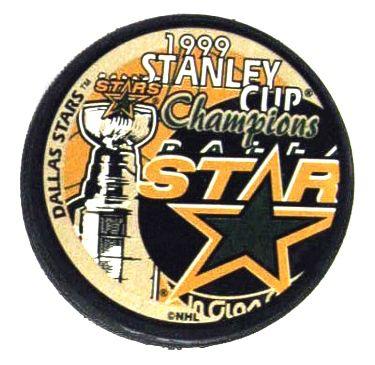 Stars 1999 Dallas Puck Stanley Cup Hockey Puck
