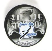 Lightning 2004 Tampa Puck Stanley Cup Hockey Puck