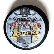 Ducks 2007 Puck Stanley Cup Hockey Puck