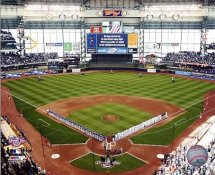 N2 Miller Park 2009 Opening Day Milwakee Brewers 8X10 Photo