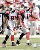 Larry Fitzgerald & Anquan Boldin Arizona Cardinals 8X10 Photo