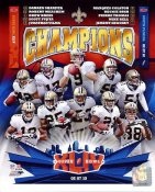 Saints 2010 Super Bowl 44 Champs Composite New Orleans LIMITED STOCK 8x10 Photo