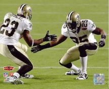 Pierre Thomas & Reggie Bush Super Bowl 44 Celebration LIMITED STOCK NO Saints 8X10 Photo
