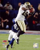 Devery Henderson Super Bowl 44 NO Saints 8X10 Photo