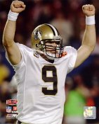 Drew Brees Super Bowl 44 Celebration NO Saints 8X10 Photo