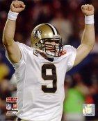 Drew Brees Super Bowl 44 Celebration NO Saints 8X10 Photo