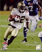 Tracy Porter Interception Touchdown Return Super Bowl 44 NO Saints 8X10 Photo