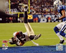 Lance Moore 2 Point Conversion Super Bowl 44 NO Saints LIMITED STOCK 8X10 Photo