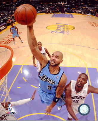 Carlos Boozer LIMITED STOCK Utah Jazz 8X10 Photo