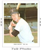 Doug Griffin Boston Red Sox 7x9 Original 1960 - 1970 Souvenir Photo 7X9 Photo
