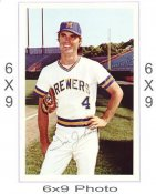 Jim Johnson Milwaukee Brewers 6x9 Original 1960 -1970 Souvenir Photo 6X9 Photo