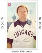 Lerrin LaGrow Chicago White Sox 6x9 Original 1960 -1970 Souvenir Photo 6X9 Photo