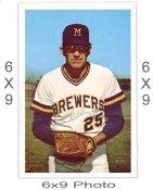 Unknown Player Milwaukee Brewers 6x9 Original 1960 -1970 Souvenir Photo 6X9 Photo
