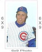 Unknown Player Chicago Cubs 6x9 Original 1960 -1970 Souvenir Photo 6X9 Photo