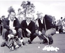 Gary Player, Jack Nicklaus & Arnold Palmer 8X10 Photo