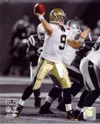 "Drew Brees Super Bowl 44 ""Spotlight"" NO Saints 8X10 Photo"