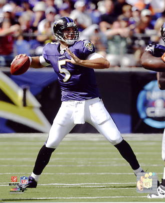 Joe Flacco LIMITED STOCK Baltimore Ravens 8X10 Photo