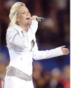 Carrie Underwood Super Bowl 44 8X10 Photo