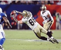 Jeremy Shockey Super Bowl 44 NO Saints 8X10 Photo