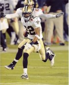 Tracy Porter Super Bowl 44 NO Saints 8X10 Photo