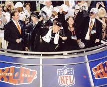 Sean Payton With Lombardi Trophy Super Bowl 44 NO Saints 8X10 Photo