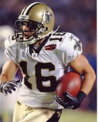 Lance Moore Super Bowl 44 NO Saints 8X10 Photo