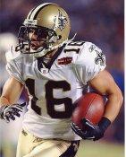 Lance Moore Super Bowl 44 NO Saints 8X10 Photo
