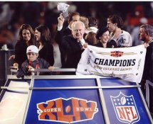 Tom Benson Super Bowl 44 NO Saints 8X10 Photo